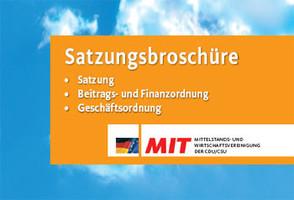 Satzungsbroschüre der MIT Deutschland